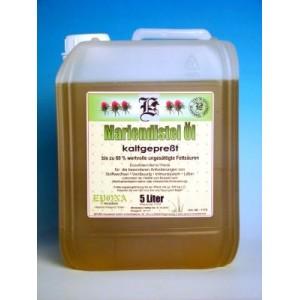 Olej z ostropestřce 5L